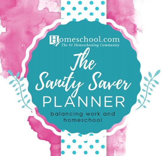 Homeschool/Working Mom Planner