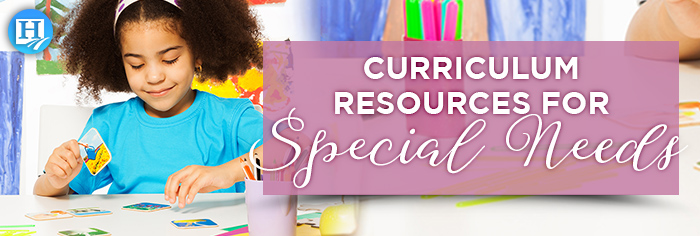 Curriculum Resources for Special Needs