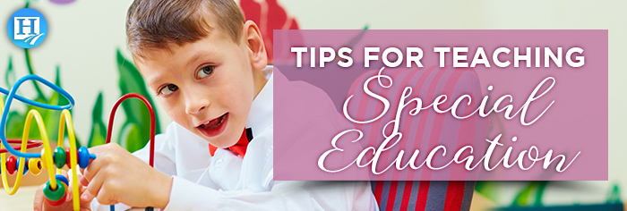 Tips for Teaching Special Education