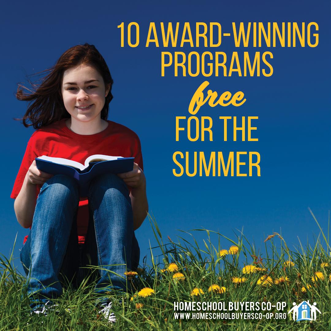 Award Winning Programs Free for the Summer