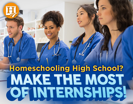 Internships help your high school student gain valuable work experience.