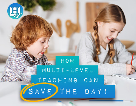 Homeschooling several grade levels? Multi-level teaching can totally save your sanity!