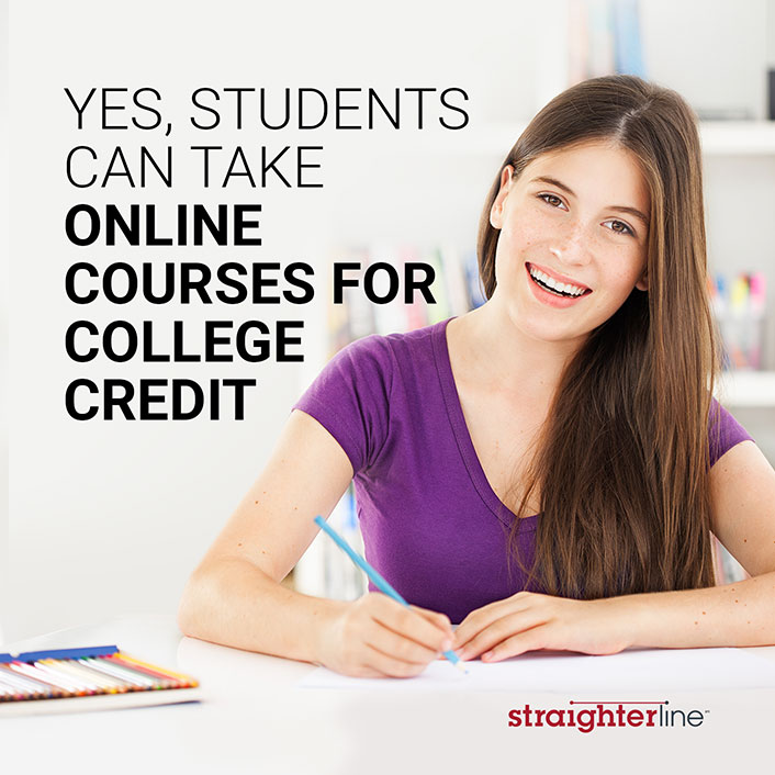 Students Can Take Online Courses for College Credit