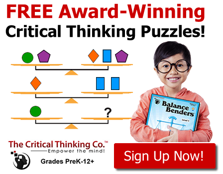 Critical Thinking Free Puzzles