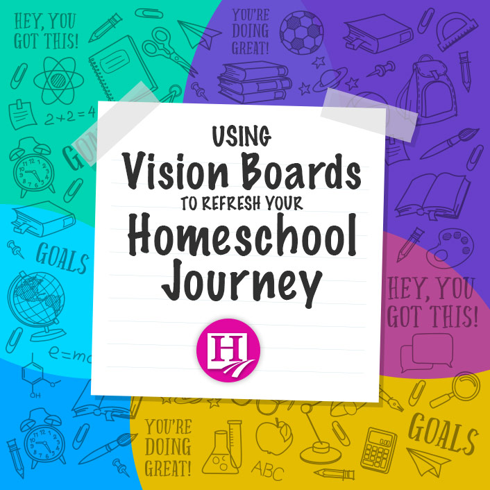 Refresh yourself this back to school season! How? Try a vision board!