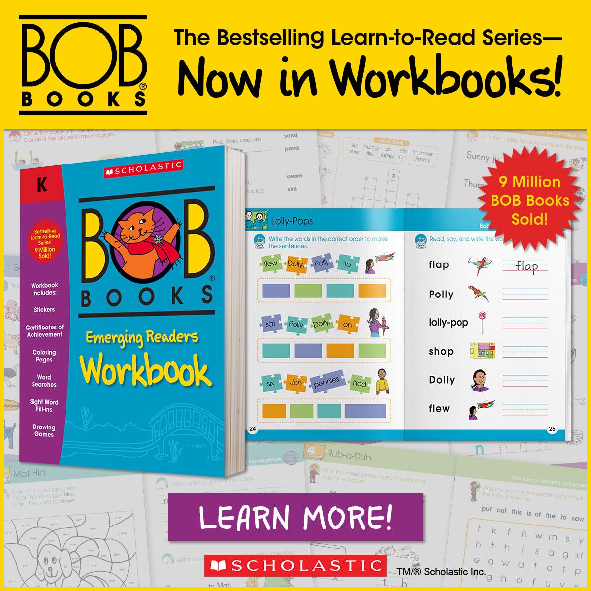 Bob Books Workbooks