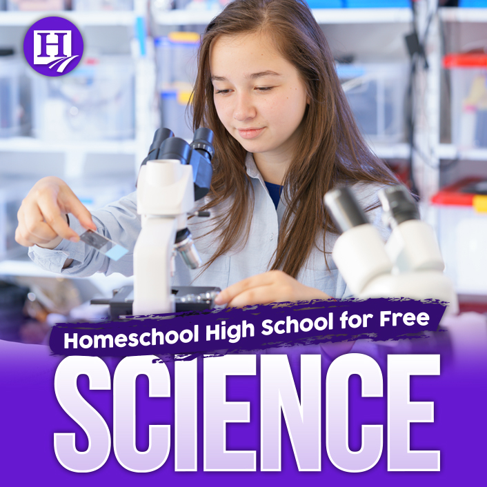 Teach high school science totally FREE of charge!