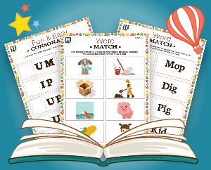 Teach your toddler to read with these word cards!