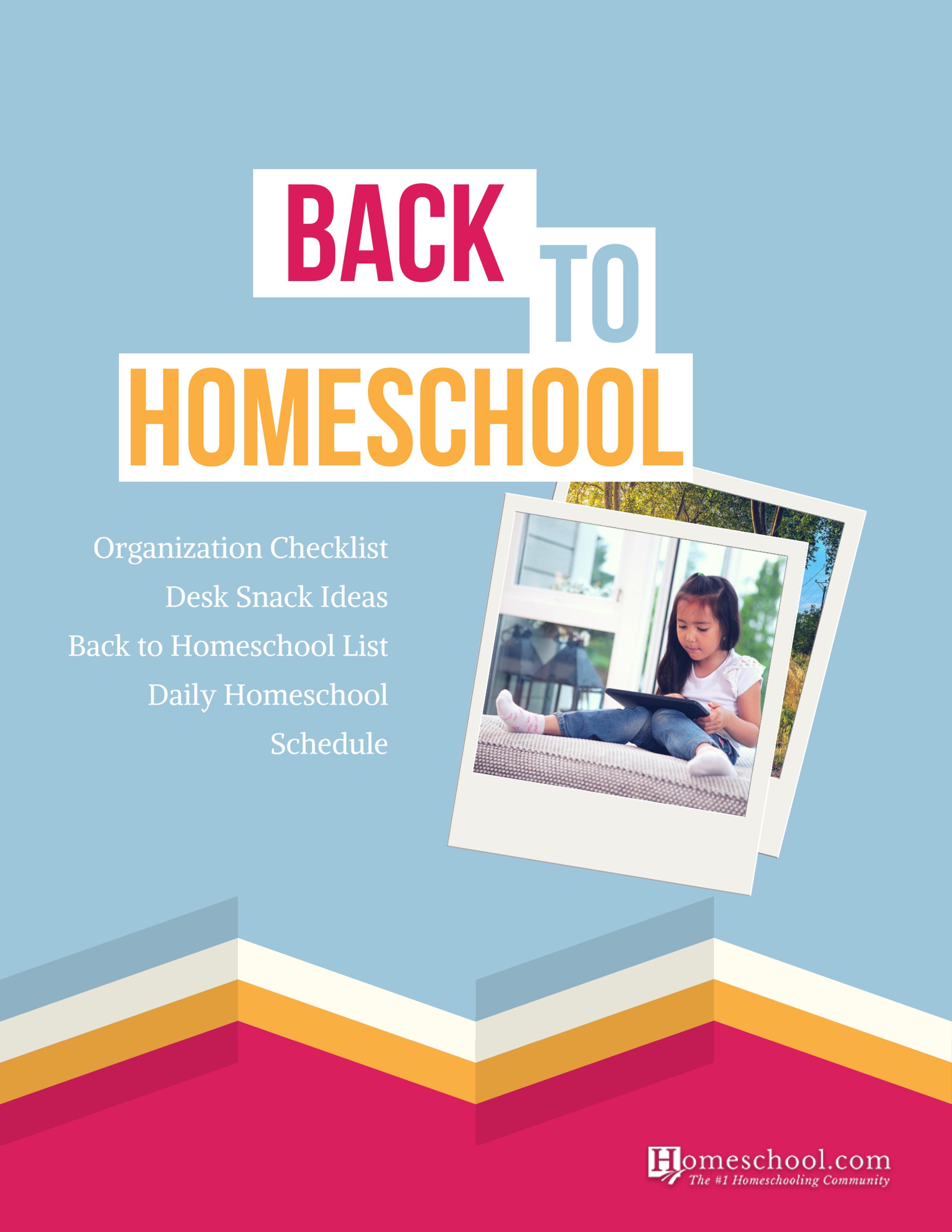 Printable Back to Homeschool Bundle