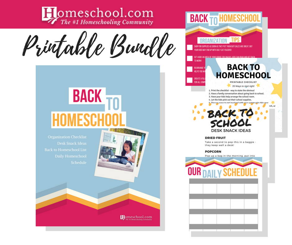 Back to Homeschool Printable Bundle