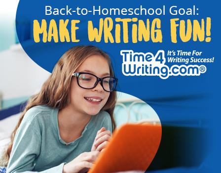Back-to-Homeschool Goal: Make Writing Fun