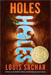 Need a book for middle school? Holes is a filled with suspense and thrills!