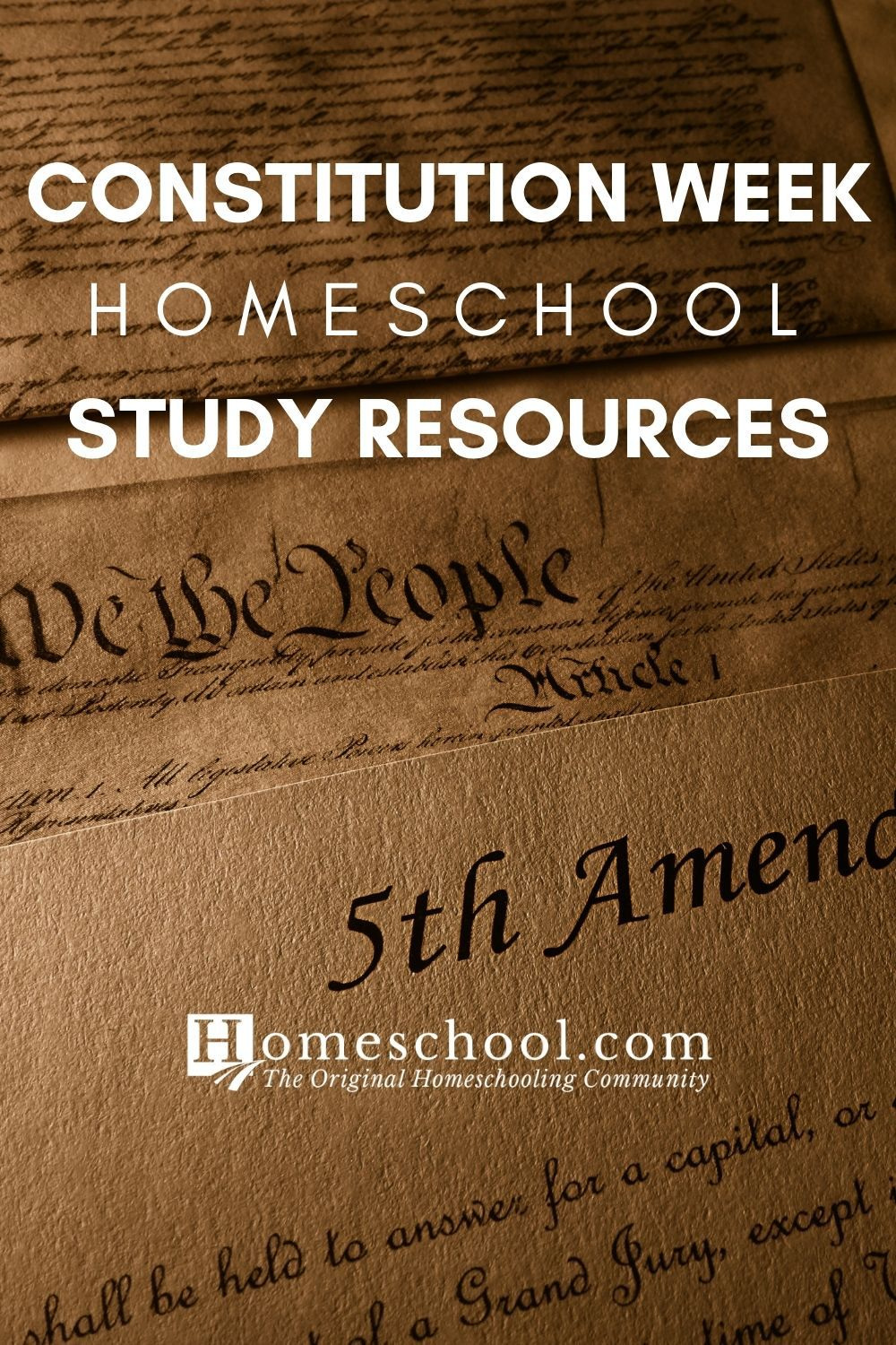 Constitution Week Study Resources