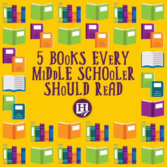 In search of book suggestions for your middle school student? Try one of our top picks!