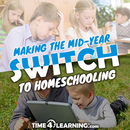 Making the Mid Year Switch to Homeschooling