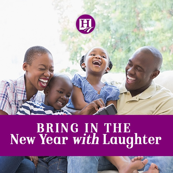 Bring in the New Year With Laughter!!