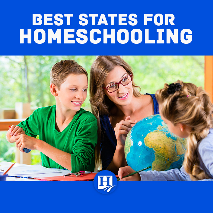 What are the most homeschool-friendly states?
