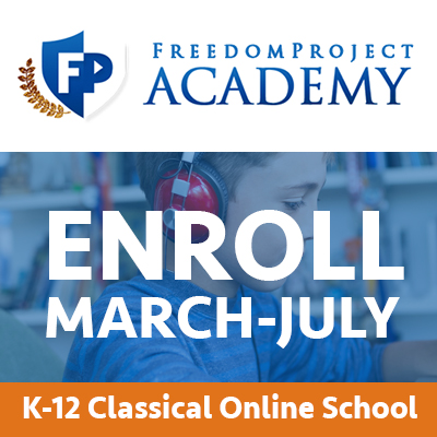 Freedom Project Academy Homeschool Product Review