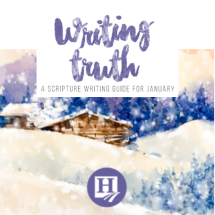 Scripture Writing for January