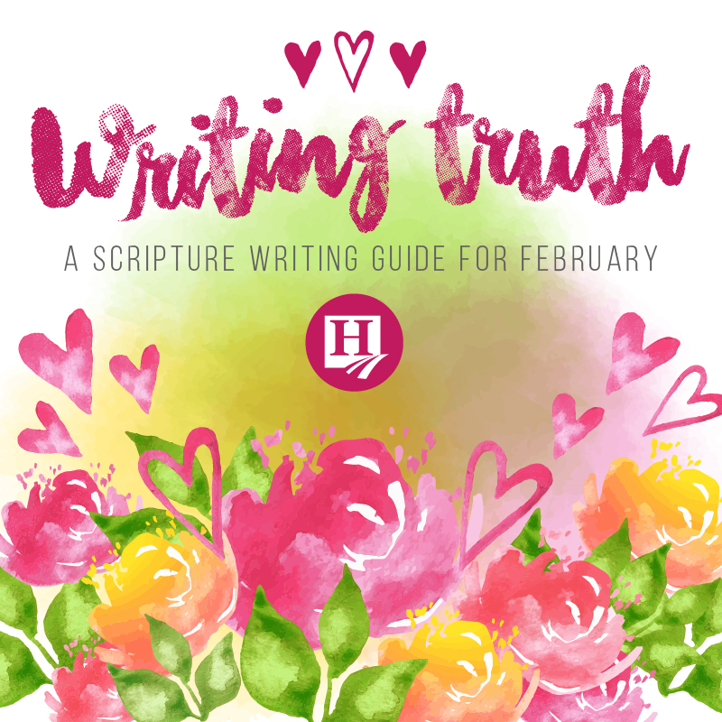 Scripture Copy Work for February