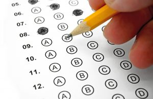 Standardized tests are administered on an annual basis.