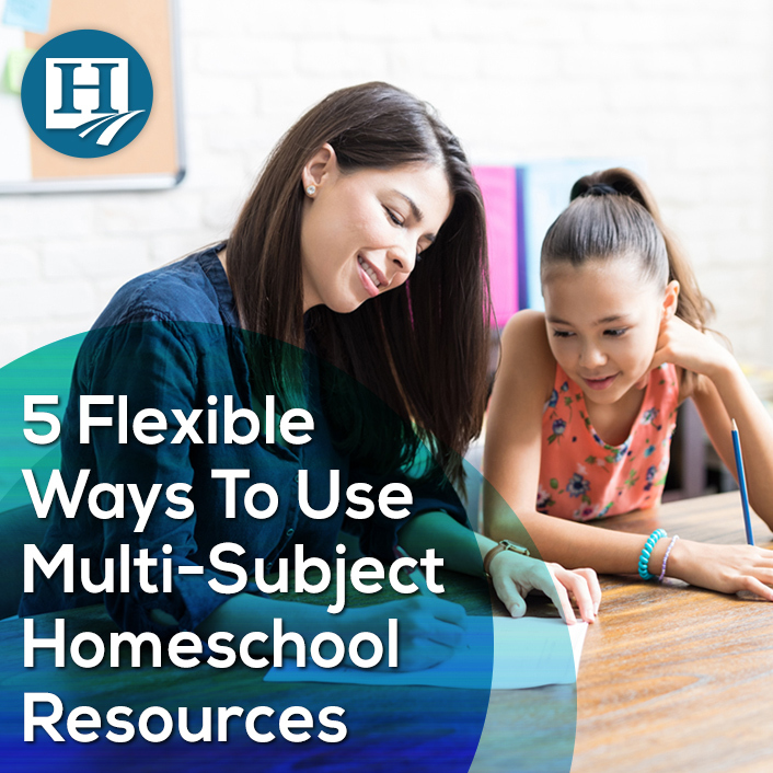 5 Flexible Ways to Use Multi-Subject Homeschool Resources