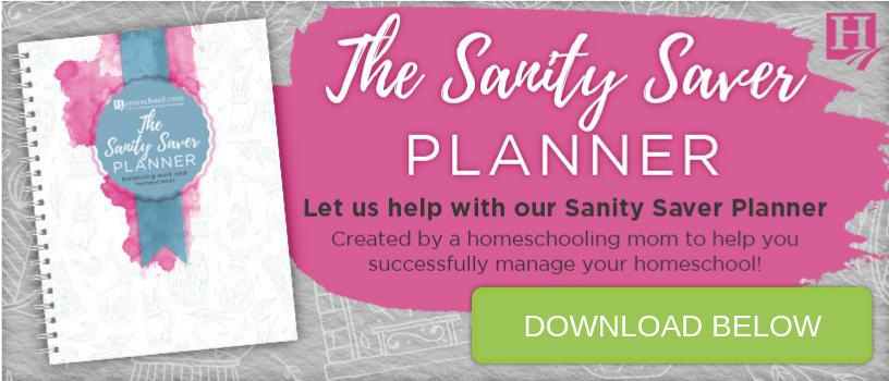 Sanity Saver Planner download