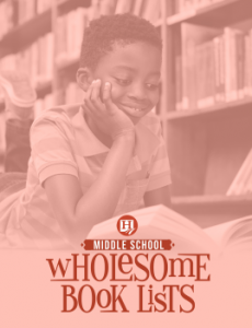 Wholesome Books - Middle School!