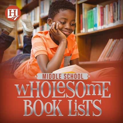 Wholesome books for middle schoolers!