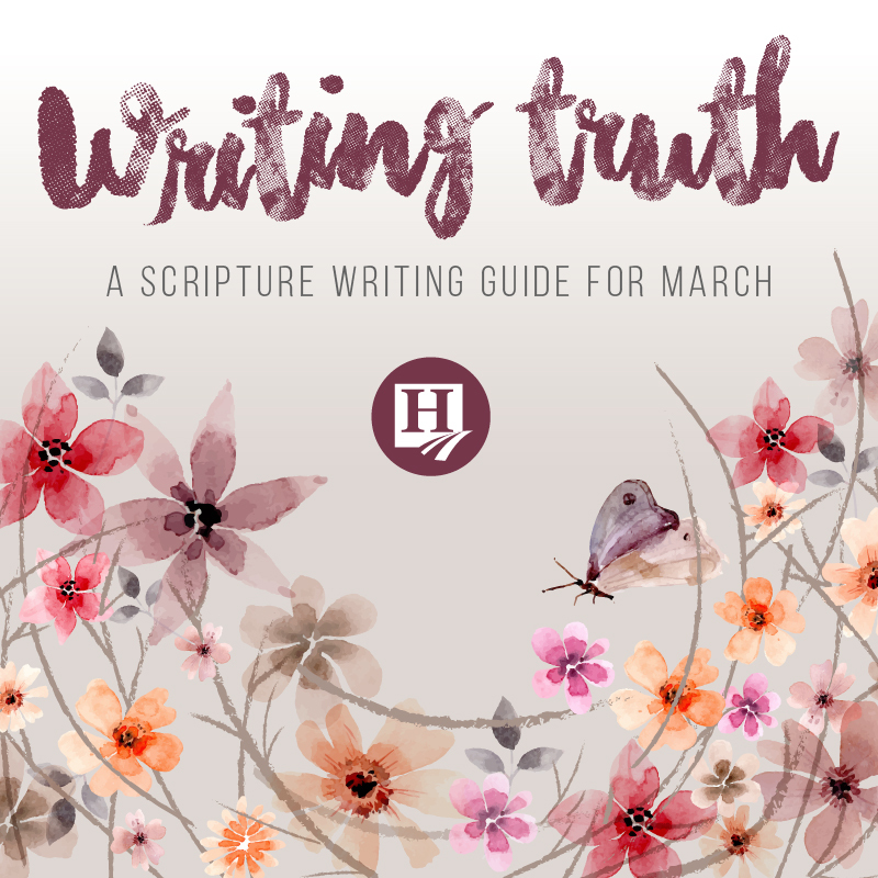 Writing Truth for March