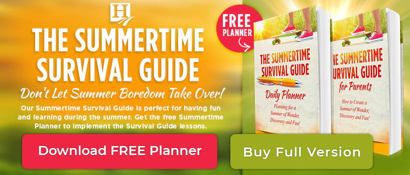 Summertime Survival Guide Planner