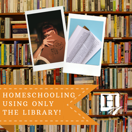 How to Homeschool Using only the Library