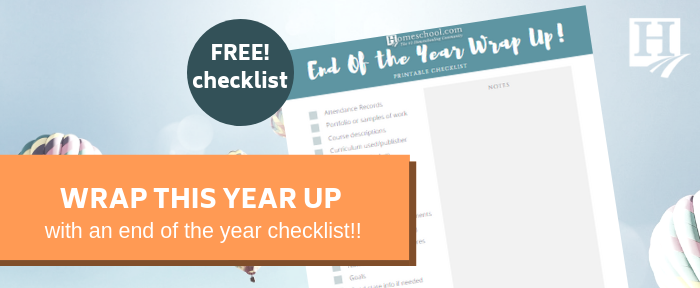 End of Year Checklist