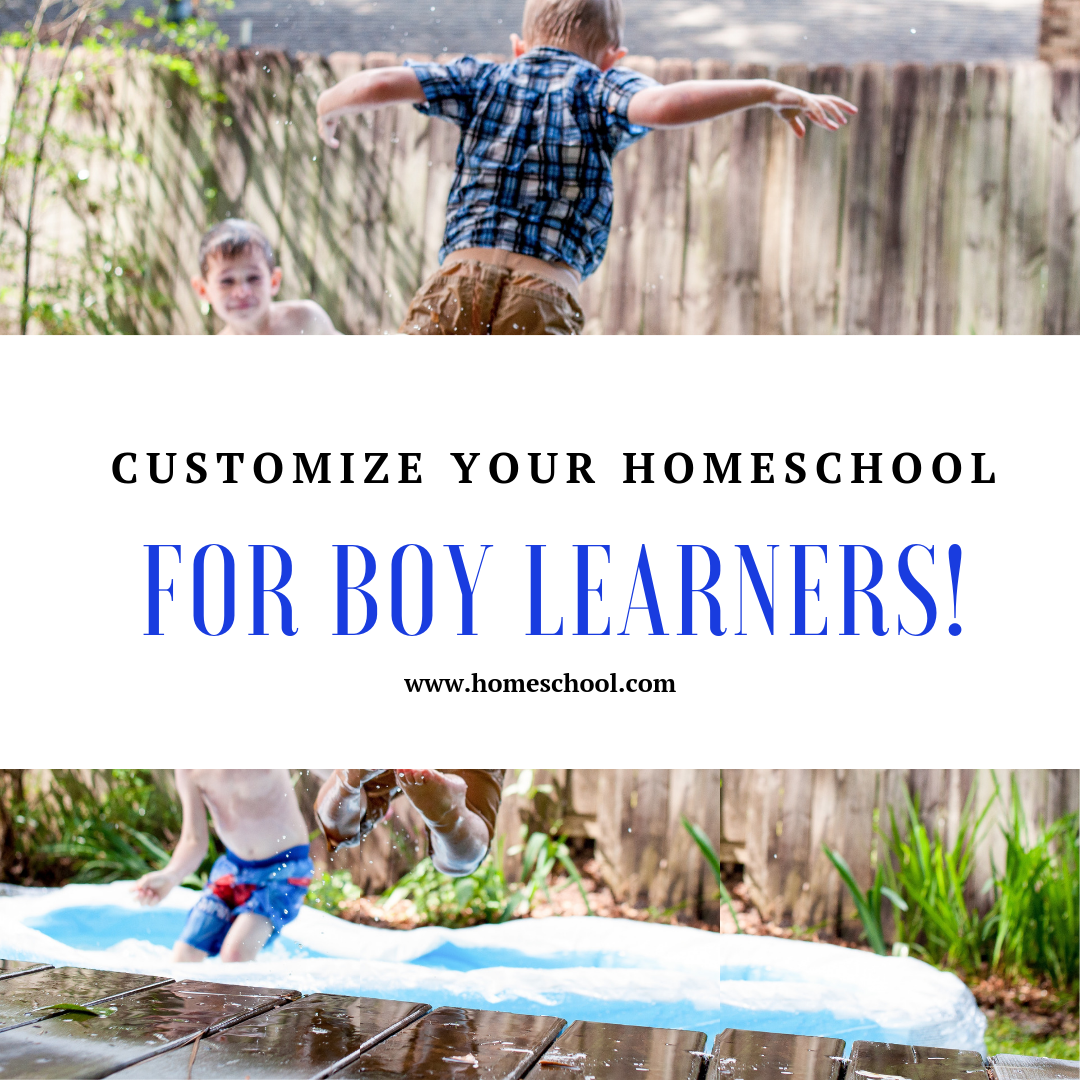 Customizing Your Homeschool Plan for Boy Learners
