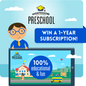 Montessori Preschooling and Giveaway