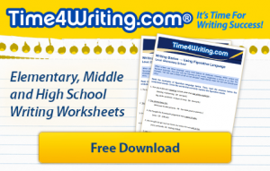 Free writing worksheets