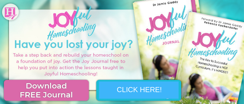 Joyful Homeschooling Journal