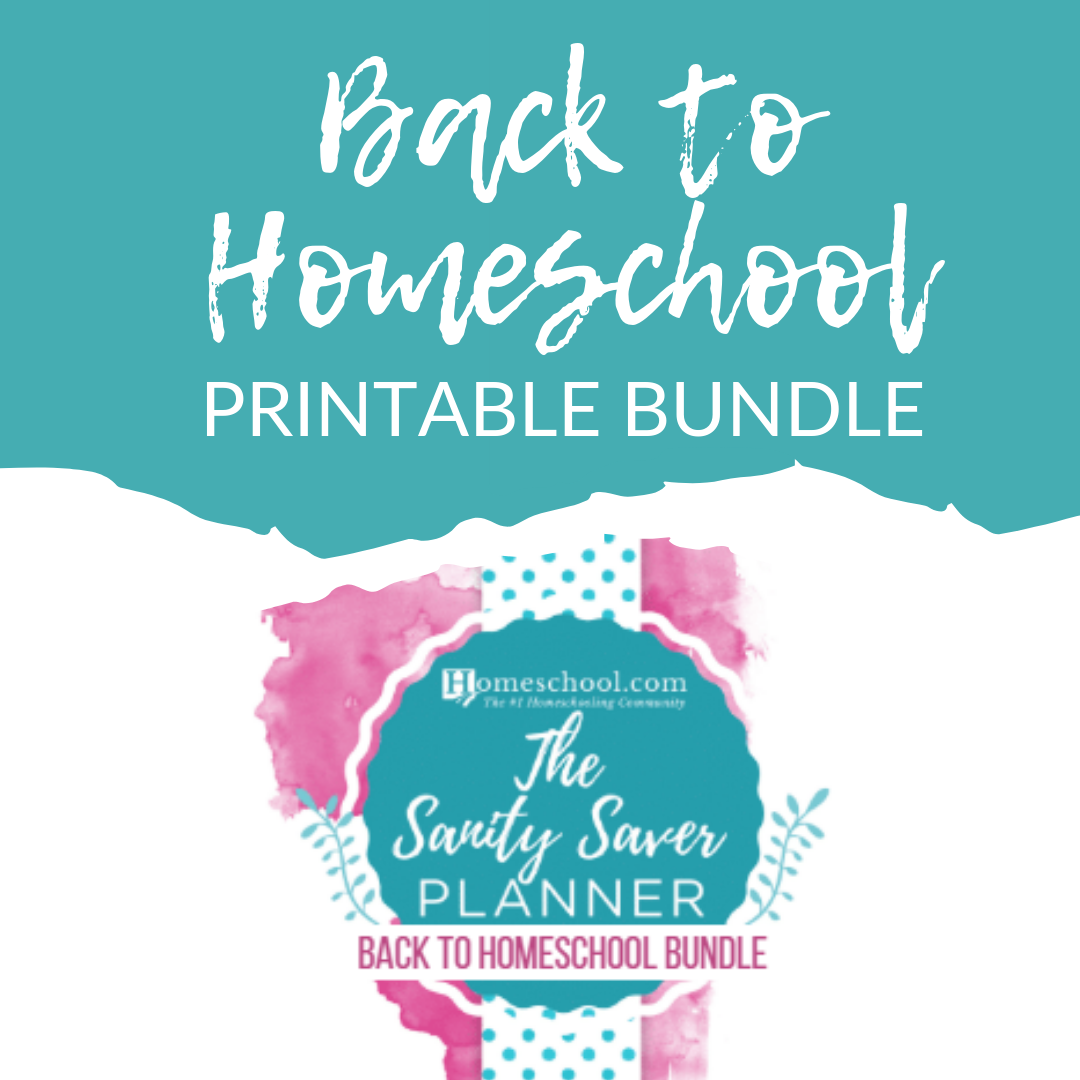 Back to Homeschool Printable