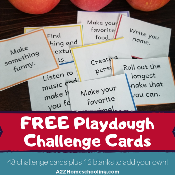 Free Playdough Challenge