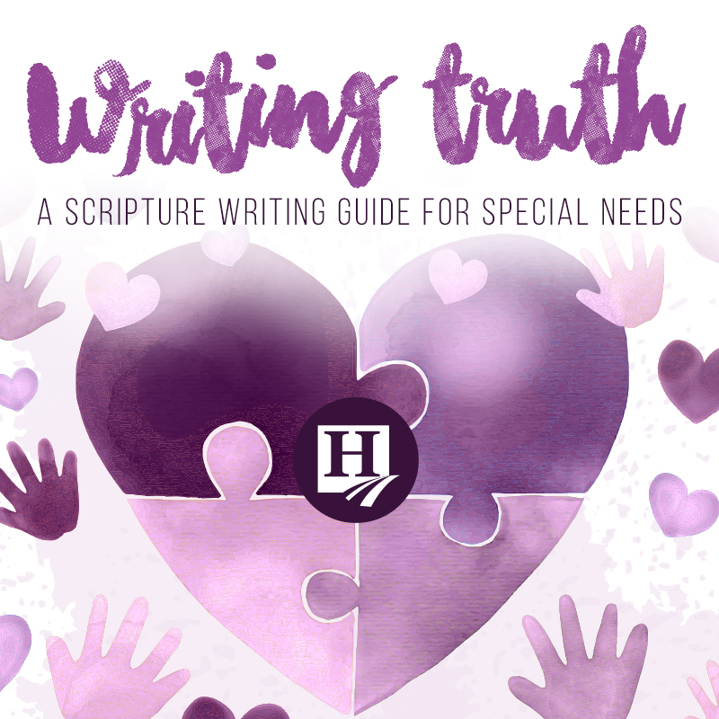 Special Needs Scripture Writing
