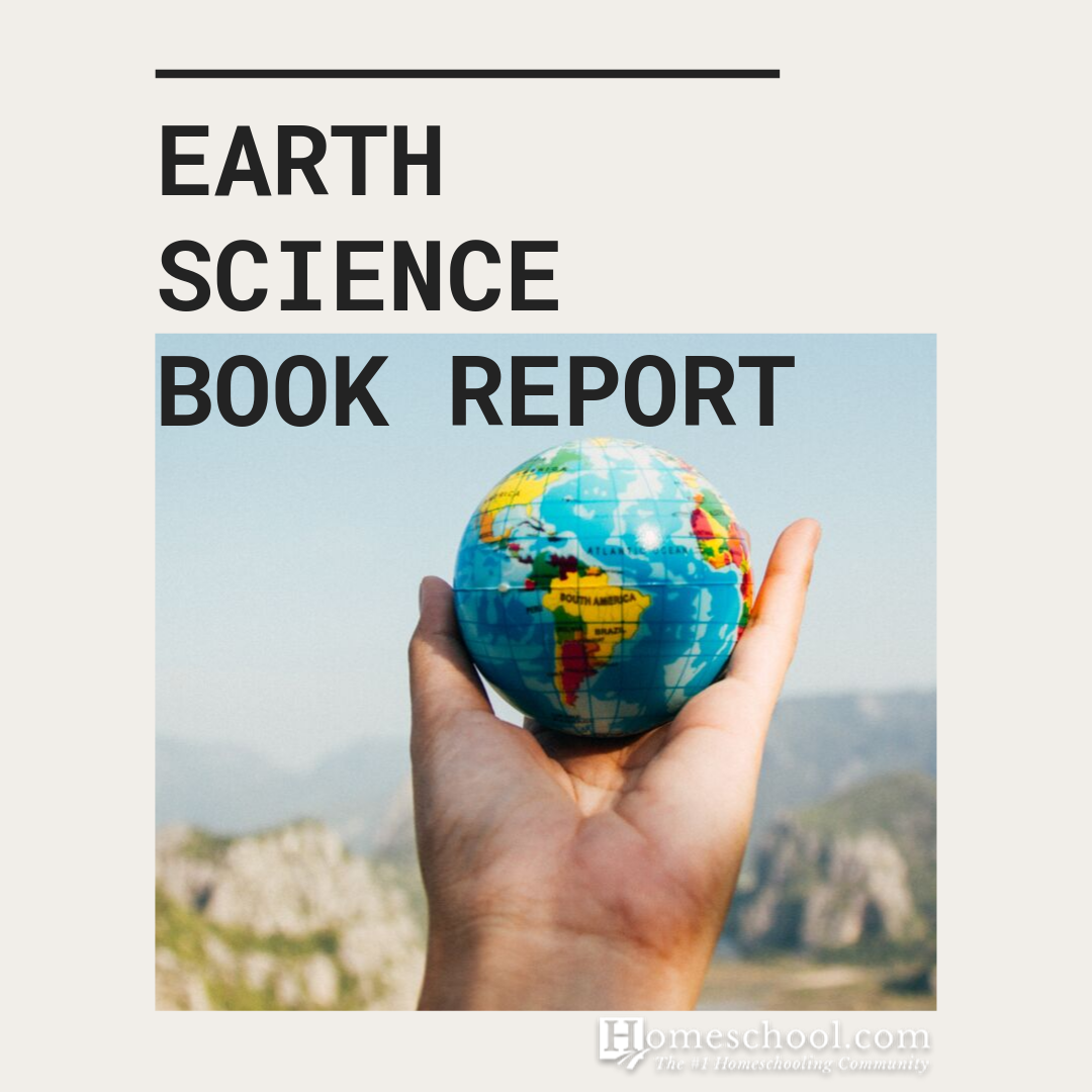 Earth Science Book Report Template