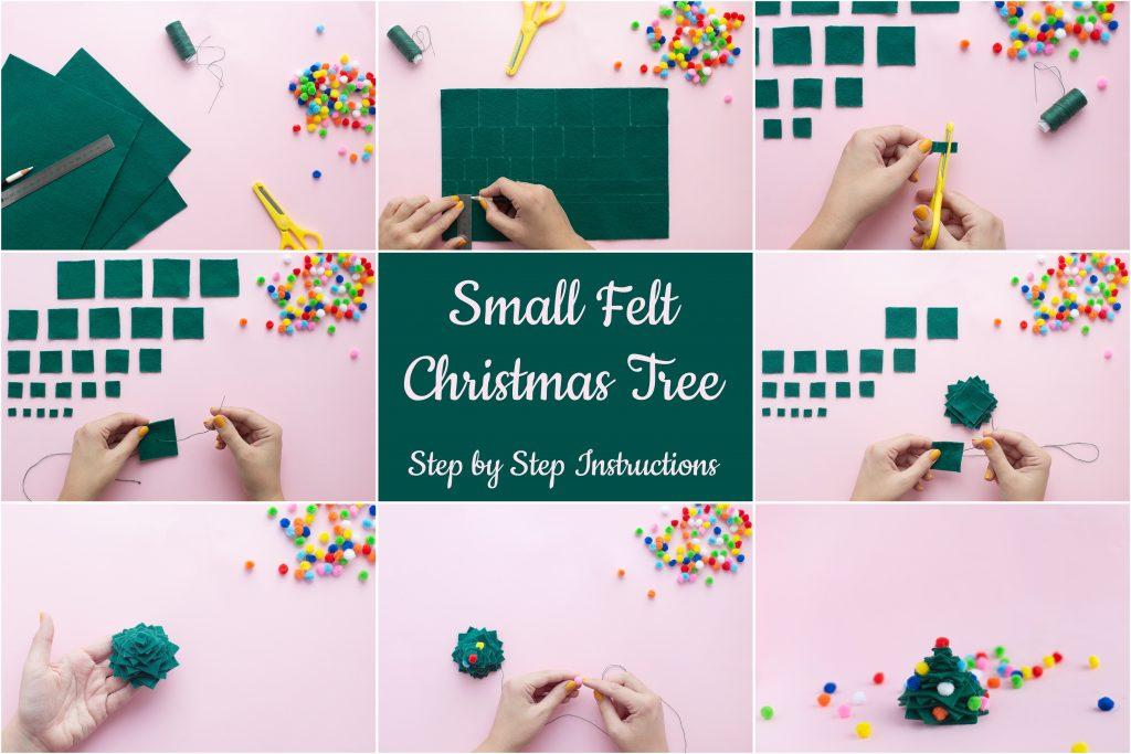 Small Felt Christmas Tree Project