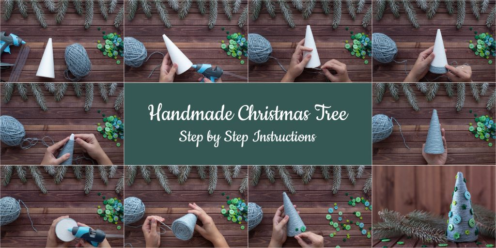 Handmade Christmas Tree Project
