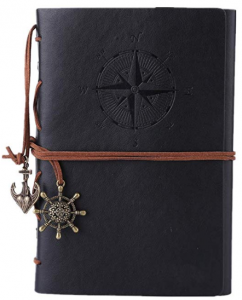 Vintage Unlined Leather Journal Educational Gifts for Teens