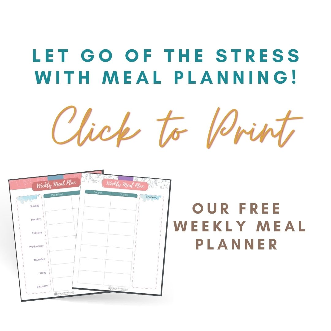 Create a Meal Plan that Works