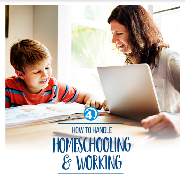 How to Handle Homeschooling and Working