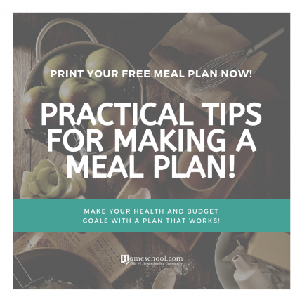 January Meal Plan Download