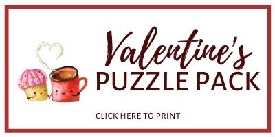 Valentine's Day Puzzle Printables
