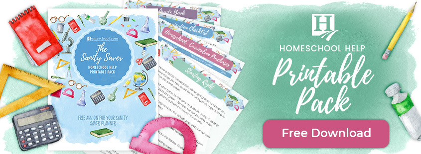 Homeschool Help Printable Pack