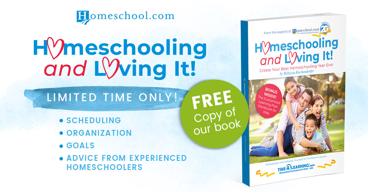 Free Homeschooling and Loving It Book!